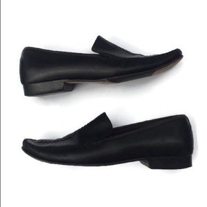 Cole Haan Leather Top Stitch Loafer
